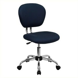Flash Furniture Mid back Mesh Task Office Chair Chairs In Navy