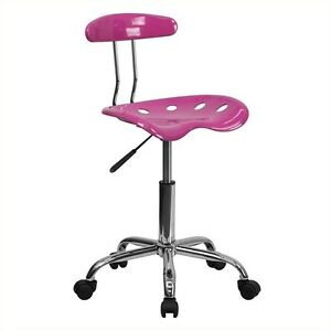 Flash Furniture Computer Task Office Chair In Pink