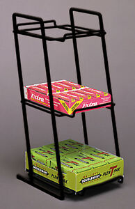 Candy Gum Lighter Small Box Goods Wire Counter Rack Display Black Lot Of 10 New