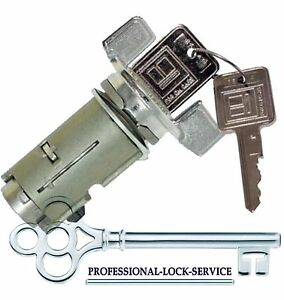 Chevy Monte Carlo Monza 79 89 Ignition Key Switch Lock Cylinder Tumbler 2 Keys