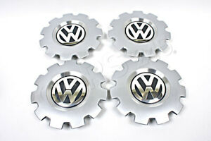 Genuine Vw Beetle Cabrio 2002 2010 Wheel Center Hub Caps Type 3 Covers 16 X4pcs
