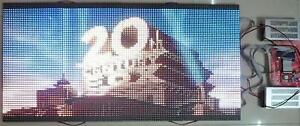 50 x 25 1 4 Duty Led Video Wall Full Color Programmable Led Sign Diy Kit