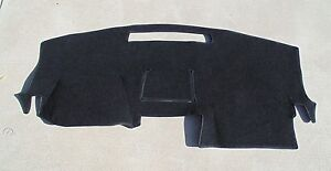 2007 2012 Gmc Acadia Dash Cover Mat Dashboard Pad Black