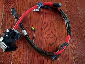 02 08 Bmw 7 Series Positive Plus Pole Battery Cable 6904905 Oem With Cover