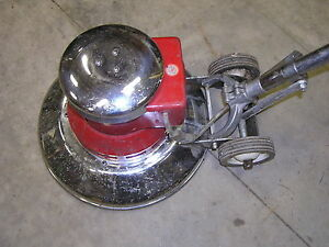 Dayton 15 Inch Floor Polisher Buffer 1 Horsepower 115 Volts 11 8 Amps Used