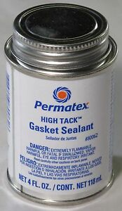 Permatex High Tack Gasket Sealant Brushtop 4oz 80062