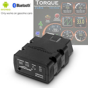 Odb2 Obdii Car Diagnostic Scanner Code Reader Elm327 Bluetooth For Android