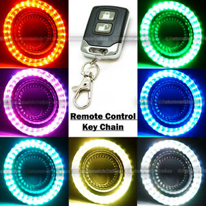 For Tc Xb 4 7 Color Halo Round Clear Lens Projector Fog Lights W Remote