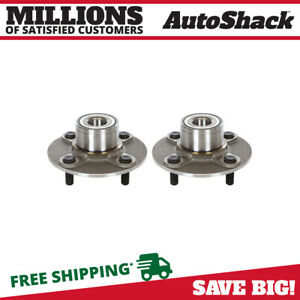 Rear Pair 2 Wheel Hub Bearing Assembly Fits 2000 2006 Nissan Sentra Hb612305pr