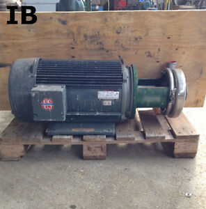 3 X 2 Di 316ss Sanitary Centrifugal Water Pump 30hp 3520rpm