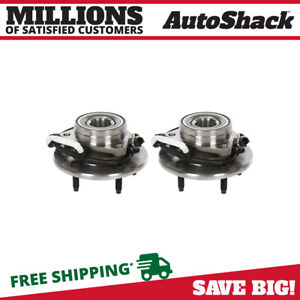Front Wheel Hub Bearing Pair For 1997 2000 Ford Expedition 1998 2000 Navigator
