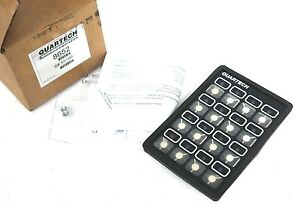 Quartech 8652 Plc Programming Interface 16 key 5vdc