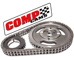 Comp Cams 3100 Hi tech Roller Race Timing Chain Set Sbc Chevrolet 327 350 5 7l