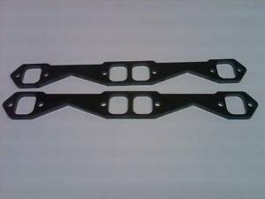 Sbc 283 327 350 Stainless Steel Header Flanges 3 8 Thick Laser Cut