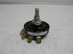 New Grayhill 19101 04ul Rotary Switch