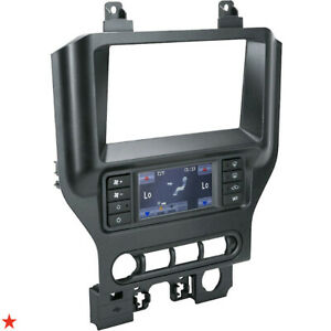 2015 Up Ford Mustang Dash Kit With Intergrated Swc Control Touch Screen