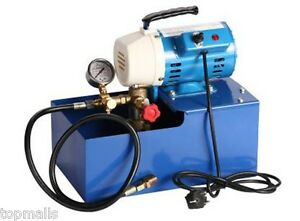 2 5mpa Electric Pressure Test Pump Hydraulic Piston Testing Pump 220v