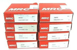Lot Of 8 Nib Mrc 206szz Ball Bearings Sealed Deep Groove 30x62x16mm