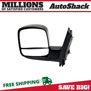 Manual Folding Textured Left Side View Mirror Fits 08 14 Chevrolet Express 2500