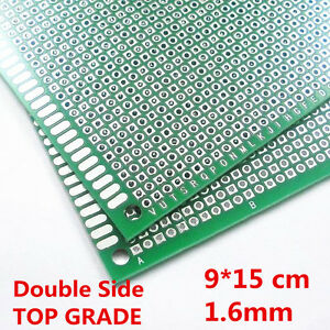 Double Side Prototype Pcb Printed Circuit Board 9 15 Cm 1 6mm 2 54mm For Arduino