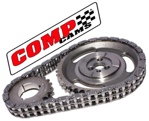 Comp Cams 3136 Chevy Sbc 1987 92 262 305 350 4 3 5 0l 5 7 Roller Race Timing Set