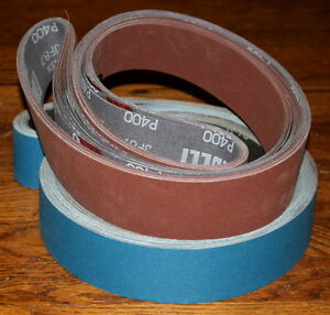 2 X 48 Sanding Belt Knifemaker Variety Kit Az Zirc 12pc