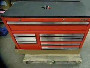 Kennedy Maintenance Pro 10 Drawer Tool Box Roller Tool Cabinet 42 x42 x20 Size