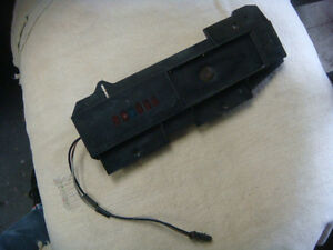 Original 67 68 Shelby Mustang Cougar Auto Shift Plate Indicator Fact Console