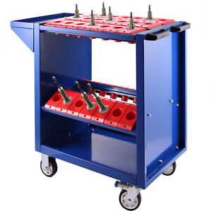 Bt40 Cnc Tool Trolley Cart Holders Toolscoot Tooling Utility 35 Capacity Hot