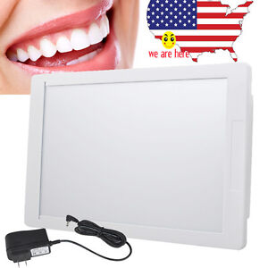 Dental X ray Film Illuminator Light Box Negative Viewer Light Panel Sealed Led