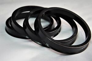 4 Hub Centric Rings 108mm Wheel To 77 8mm Hub Hubcentric 77 8 To 108