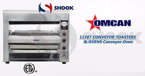 Omcan 11387 Conveyor Commercial Restaurant Counter Top Pizza Baking Oven Ts7000