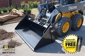 Blue Diamond Skid Steer 4 in 1 Bucket Attachment 84
