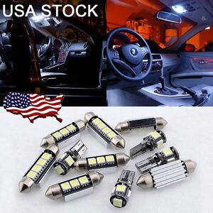 14pcs White Led Interior Smd Light Kit For Bmw 3 Series E90 E91 E92 M3 06 11 Us