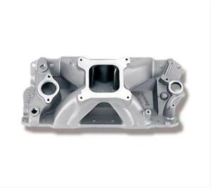 Holley Strip Dominator Intake Manifold Chevy Sbc 283 327 350 Fits Stock Heads