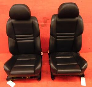 04 10 Bmw 5 Series E60 Oem M5 Extended Merino Leather Front Seats Assembly