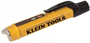 Klein Tools Non contact Led Voltage Tester Meter Pen With Flashlight Model