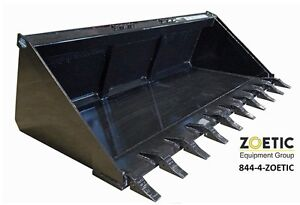 Blue Diamond Skid Steer Utility Bucket Attachment 84 Tooth