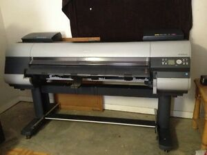 Canon Ipf8000s Imageprograf Wide Format Printer 8color 44in Local Pickup Only