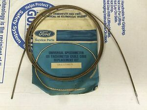 Nos Ford Universal Speedometer Or Tachometer Cable Core Kit