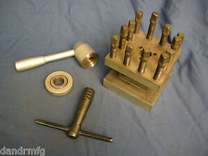 Lathe Turret 4 way Tool Indexing Post 4 1 4 Square For Cnc Lathe Machine Shop