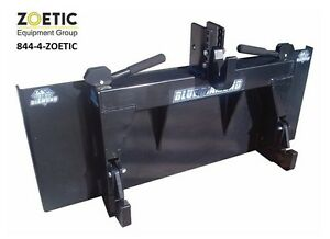 Blue Diamond 3 point Conversion Adapter Skid Steer Attachment Category 1