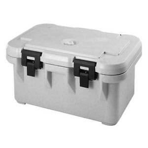 Cambro Upcs180480 S series Top Loading Ultra Pan Carrier speckled Gray