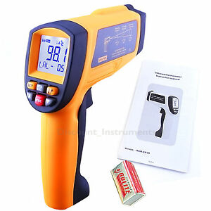 Temperature Gun Infrared Digital Thermometer Pyrometer 58 2102 f c Generic