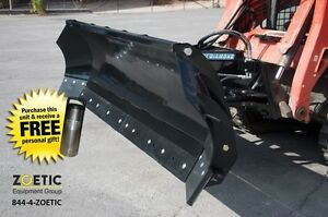 Blue Diamond Trip Edge Snow Angle Blade Skid Steer Attachment 120 Wide