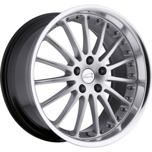 2 19x9 5 20 5x120 Coventry Whitley Silver Wheels Rims 19 Inch 45123