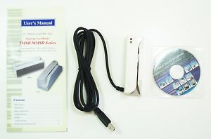 Tmsr 33 Usb Heavy Duty 3 track Magnetic Stripe Credit Card Reader 300k Swipe New