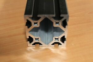 8020 Inc 15series Smooth Aluminum Extrusion Part 3030 s X 96 Black Ano Sc F5 14