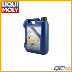 5 Liter Engine Oil Liqui Moly Leichtlauf High Tech 5w 40 Synthetic 2332 New