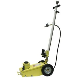 Yellow Jackit 22 Ton Air Hydraulic Floor Jack Esc10448 Brand New